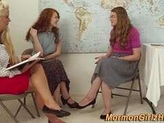 Lesbische Lehrerin ihre Schüler